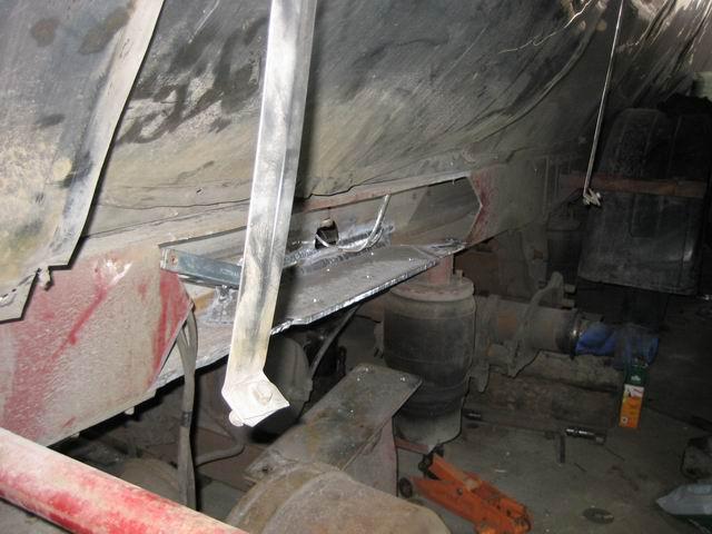 Пример ремонта рамы